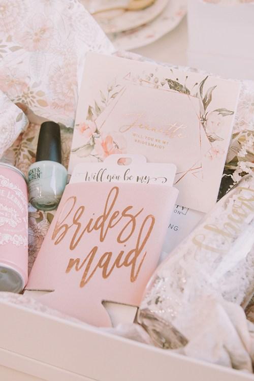 A Bridesmaid Proposal and Afternoon Tea