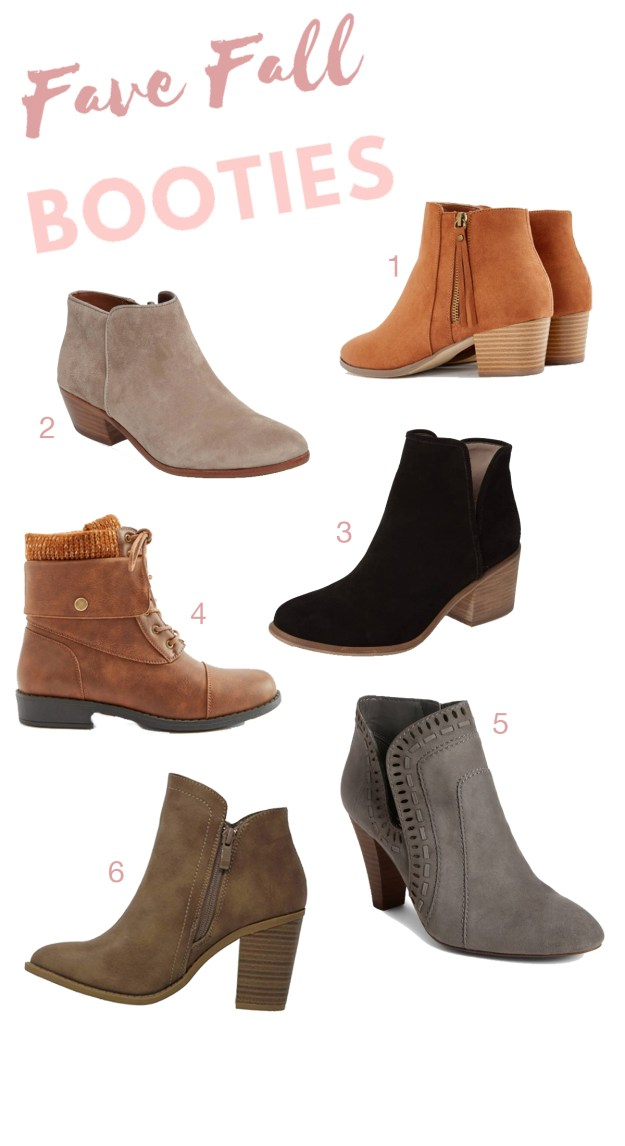 Fave Fall Booties | A Good Hue