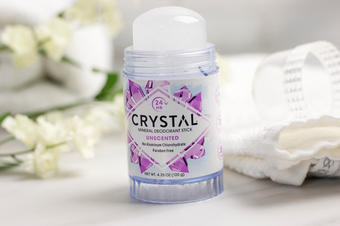 The Best Natural Deodorant: Crystal Mineral Deodorant | A Good Hue