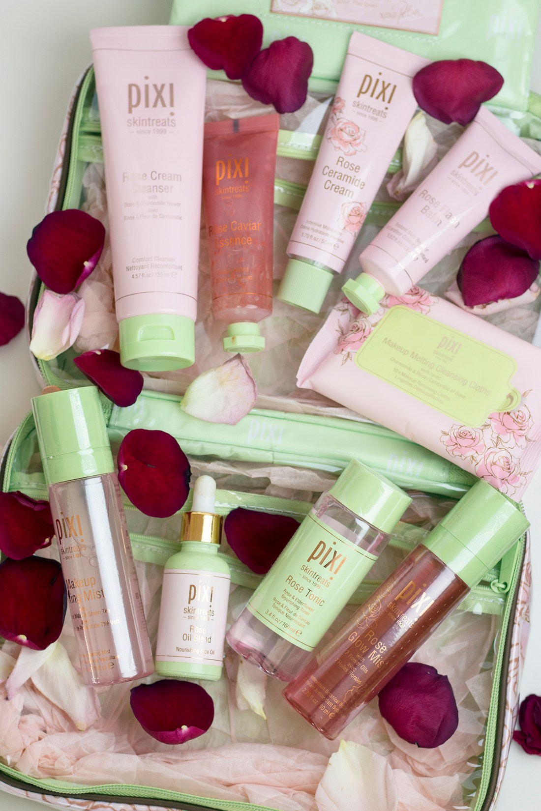 Review: Pixi Beauty Rose Infused Skintreats | A Good Hue