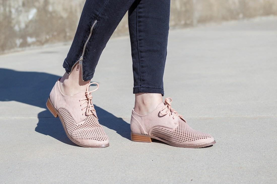 Just Fab Modern Prep Oxford Shoes | A Good Hue