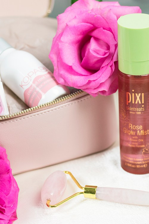 My Rose-Infused Skincare Routine