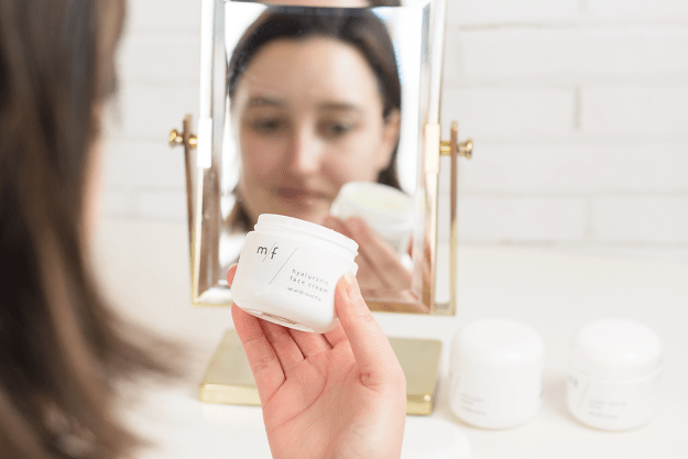 Spring Skincare Routine: m/f people Hyaluronic Face Cream | A Good Hue