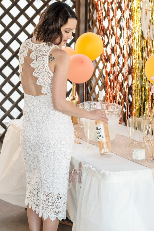 My Rosé and Bubbly Bridal Shower