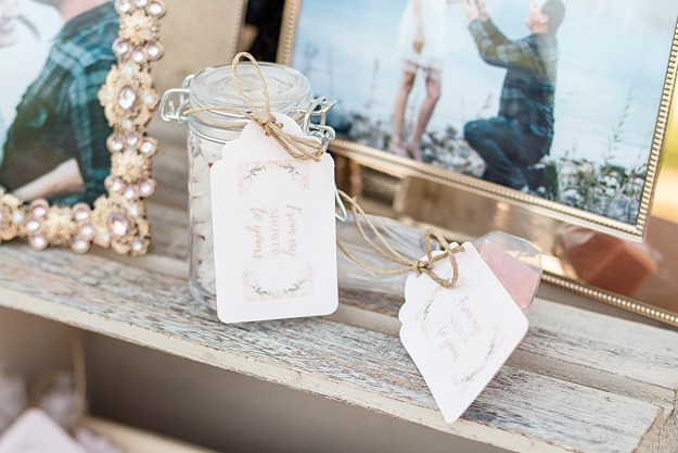 From My Shower to Yours DIY Bridal Shower Party Favors | A Good Hue