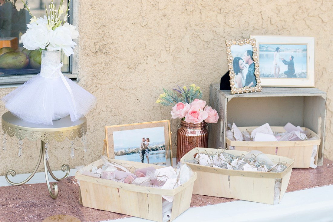 Rosé and Bubbly Bridal Shower- Party Favors | A Good Hue