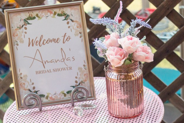 Rosé and Bubbly Bridal Shower | A Good Hue