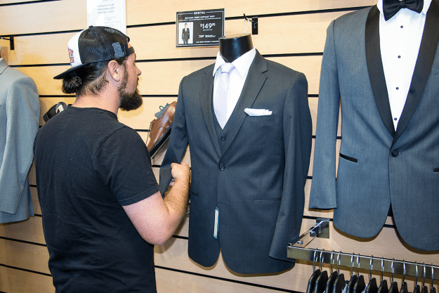 Wedding Tux Shopping at Friar Tux | A Good Hue
