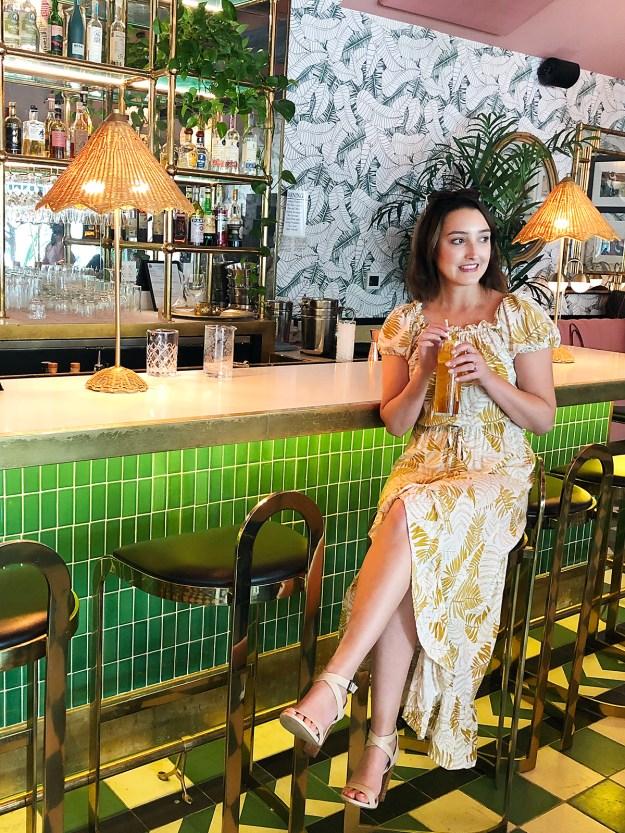 Pink Cabana at Sands Hotel | A Good Hue