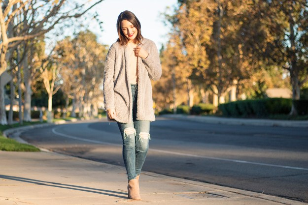 Go-To Cozy Fall Outfit | A Good Hue