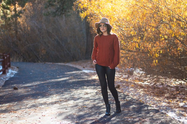 Comfortable & Chic Thanksgiving Outfit   A Good Hue