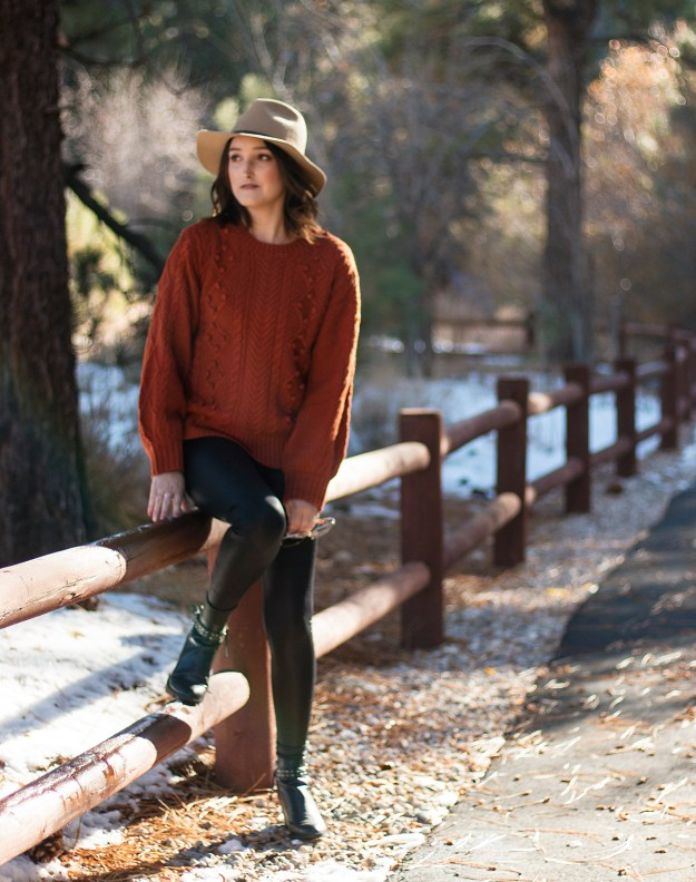 Sweater & Leggings Combo for Winter | A Good Hue