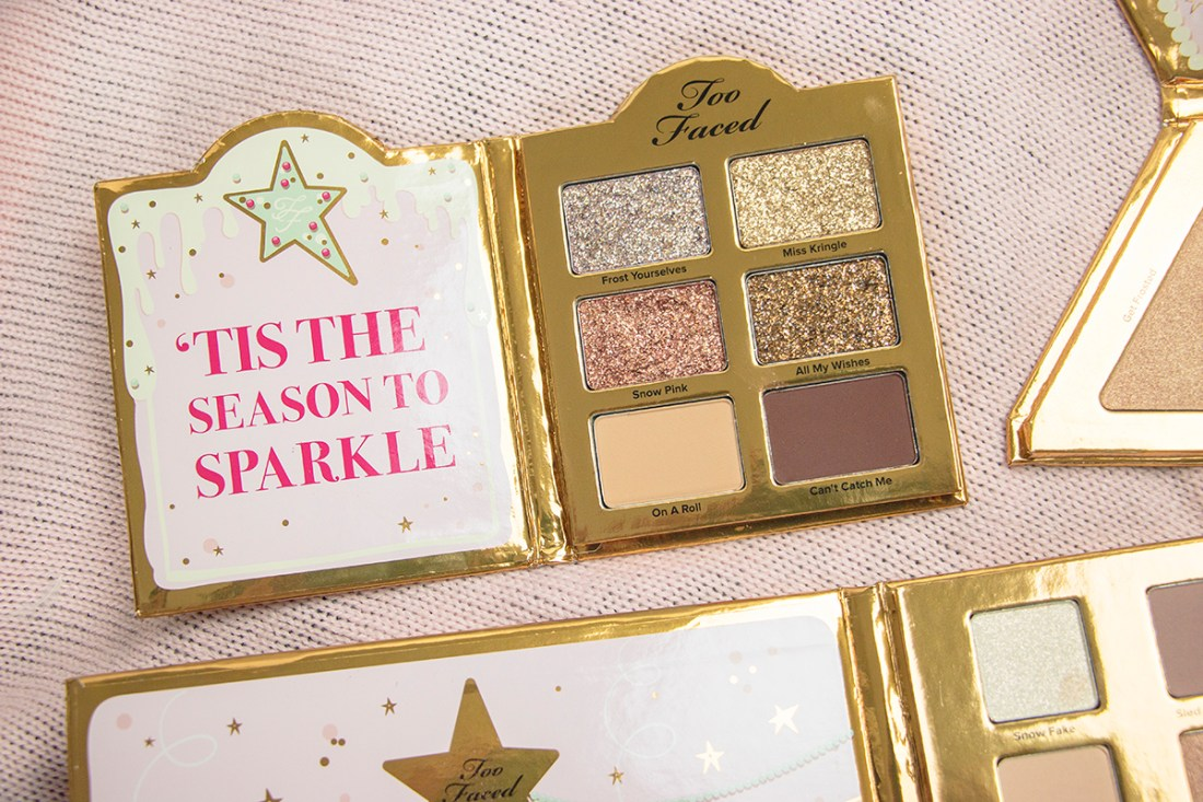 Too Faced Christmas Cookie House Party | A Good Hue