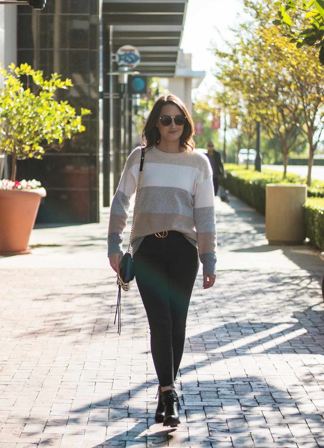 Style for Less: Walmart Color Block Sweater | A Good Hue
