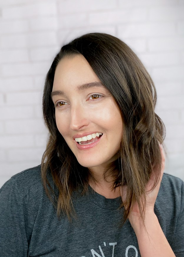 Brunette Lob Hairstyle | A Good Hue