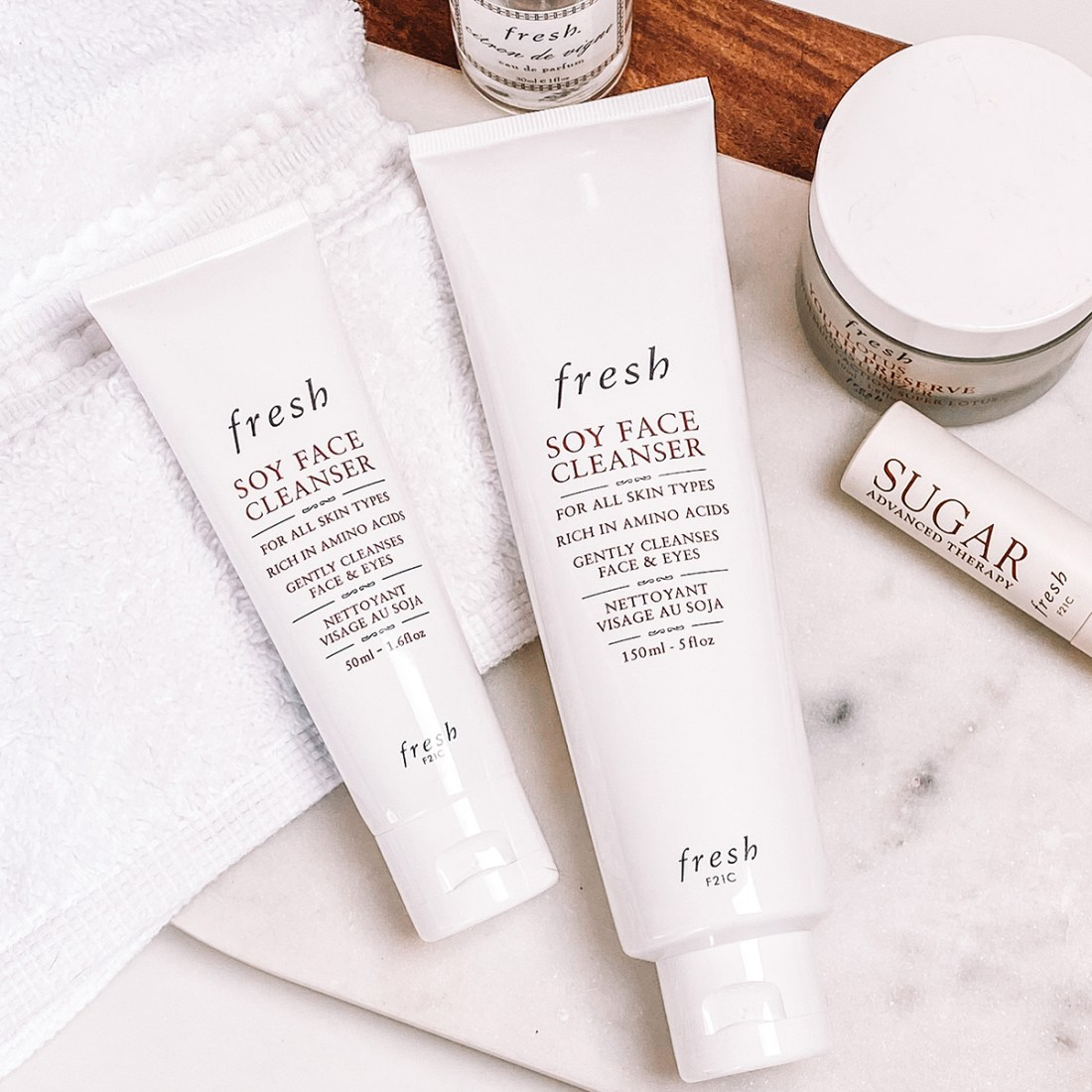 Fresh Soy Face Cleanser | A Good Hue