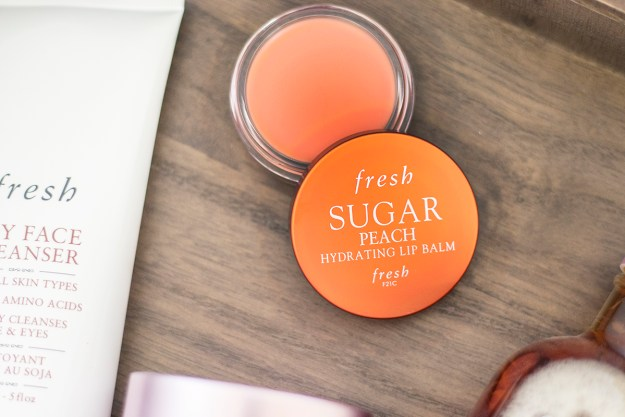Fresh Sugar Peach Hydrating Lip Balms | A Good Hue
