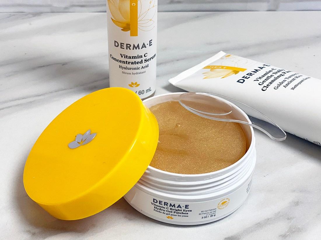 DermaE Vitamin C Eye Gels   A Good Hue
