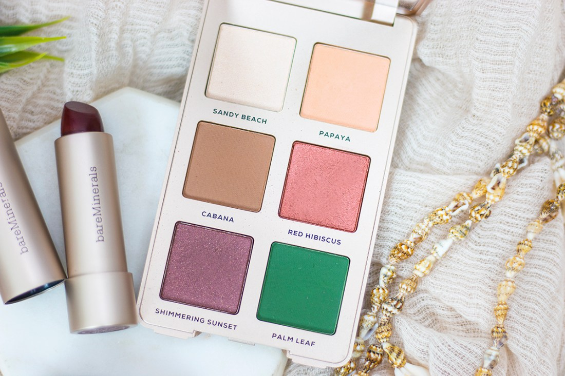 Bare Minerals Beauty of Nature Natural Oasis Eyeshadow Palette | A Good Hue