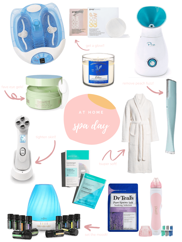 At-Home Spa Day Must Haves | A Good Hue