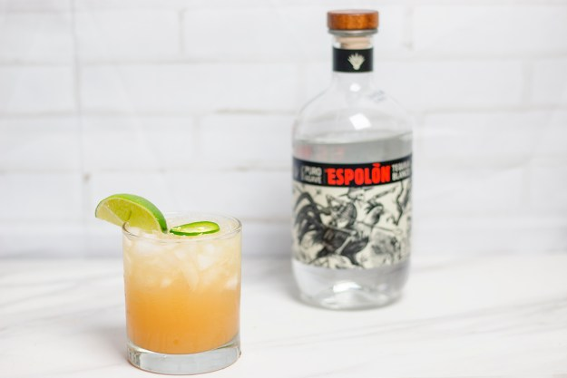 Spicy Paloma with Espolòn Tequila | A Good Hue