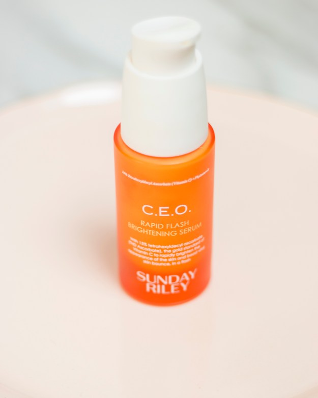 Sunday Riley C.E.O. Rapid Flash Brightening Serum | A Good Hue