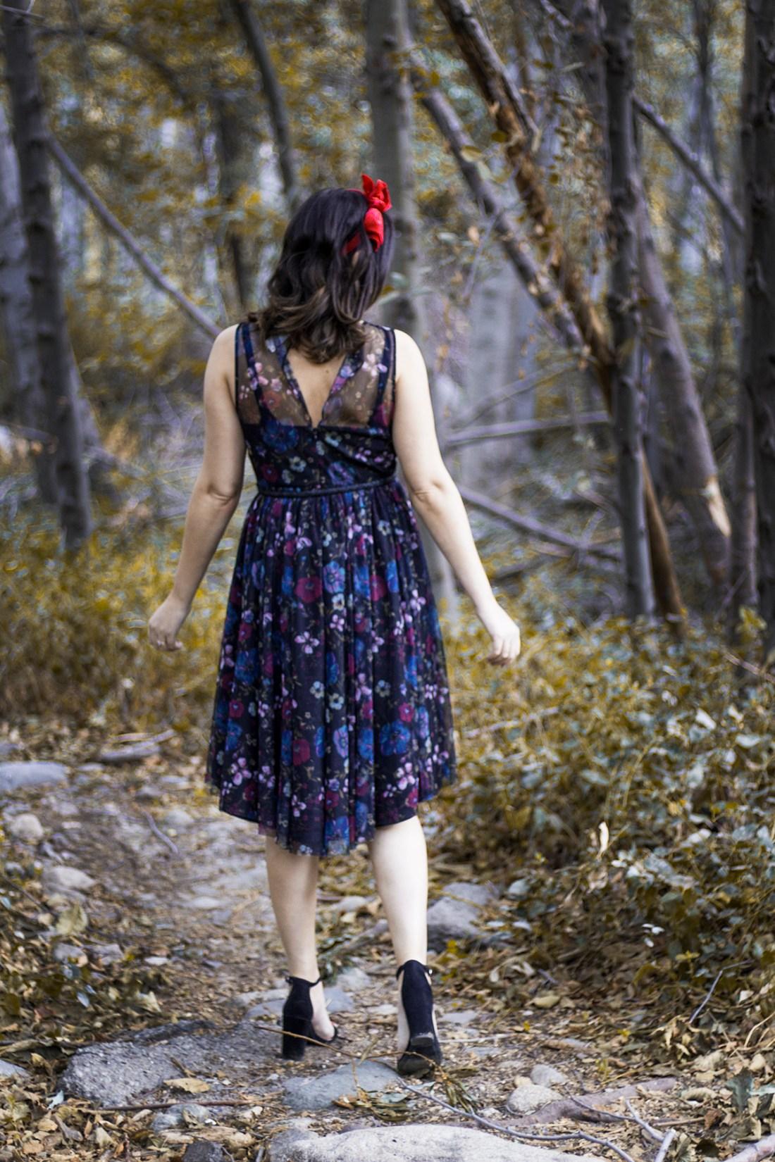 LC Lauren Conrad x Disney Snow White Dress | A Good Hue