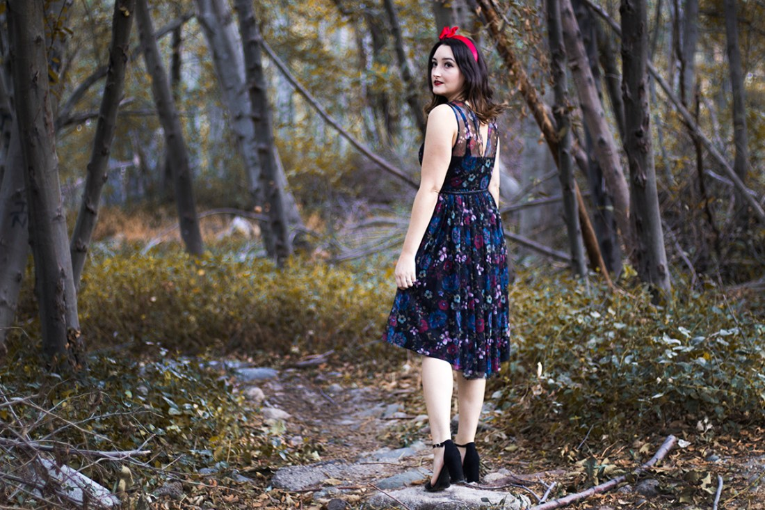 Snow White Dress from LC Lauren Conrad Collection | A Good Hue