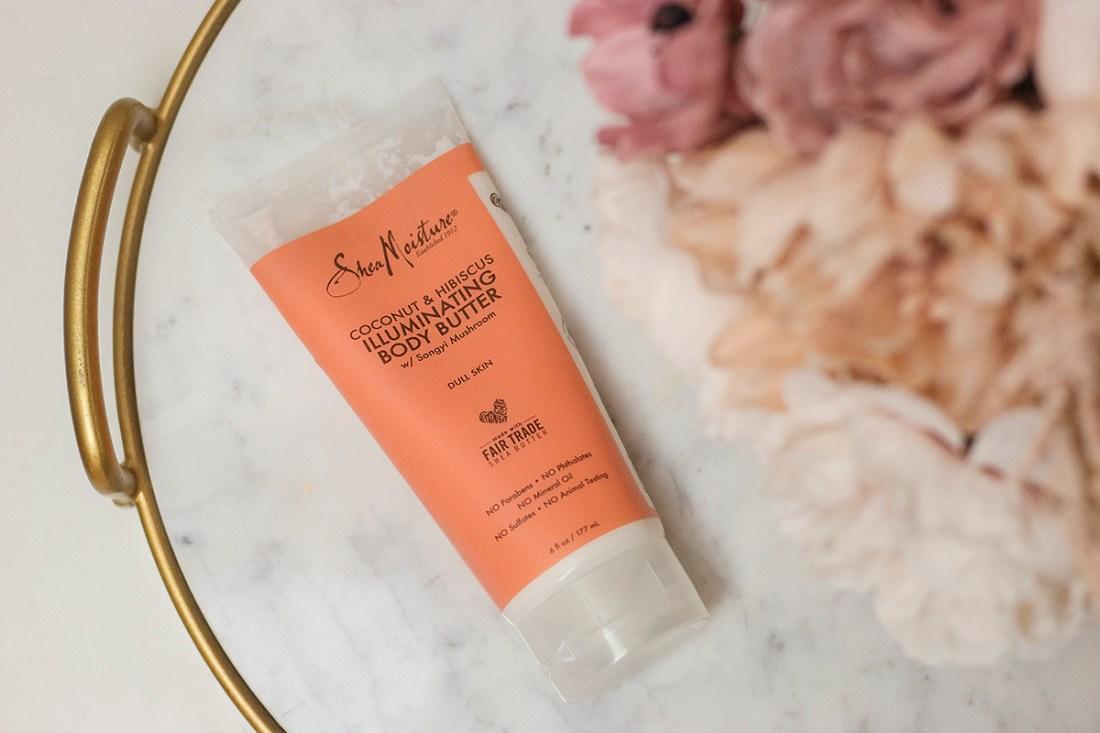 Skin Hydration: SheaMoisture Illuminating Body Lotion | A Good Hue