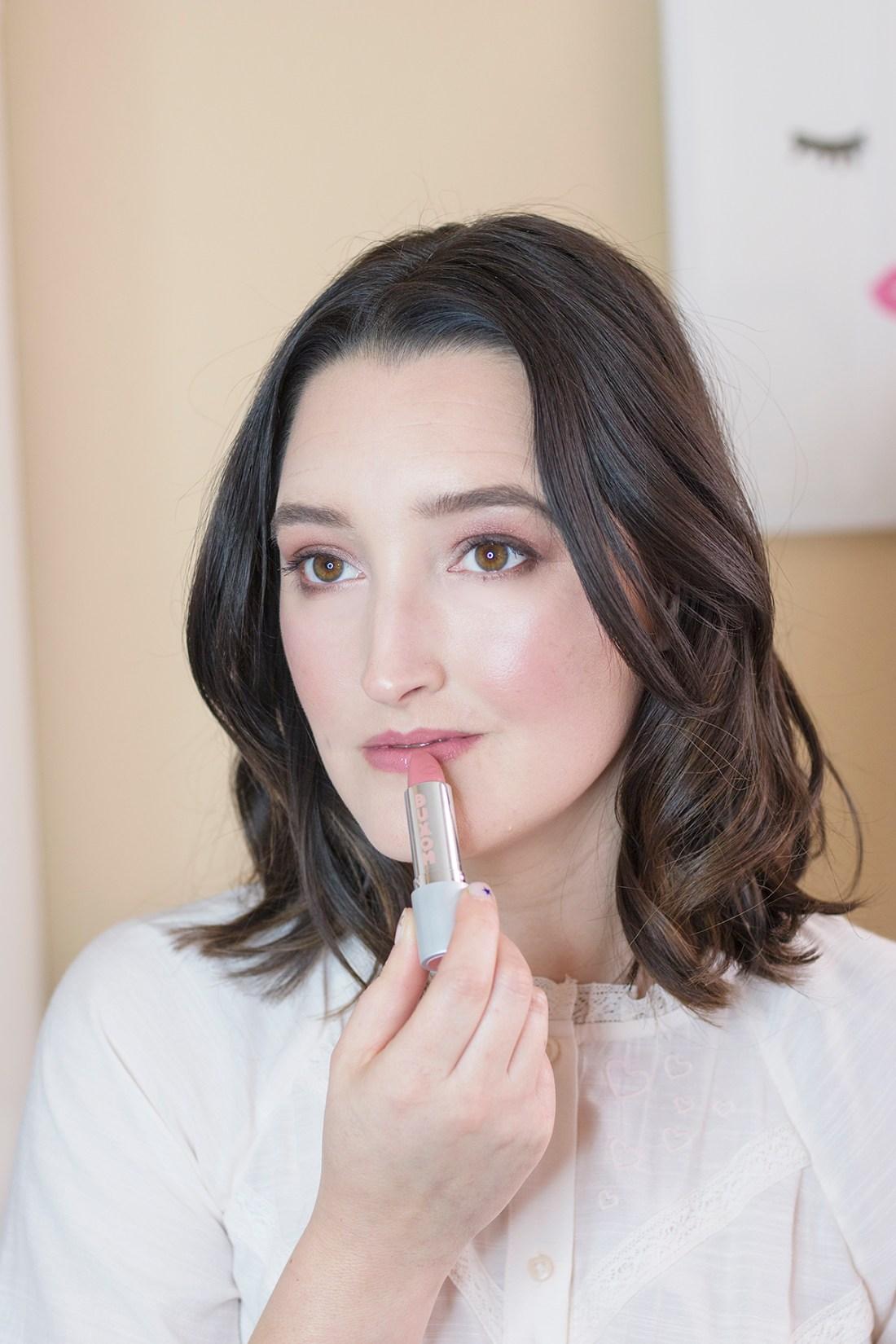 Best nude pink lipstick | A Good Hue