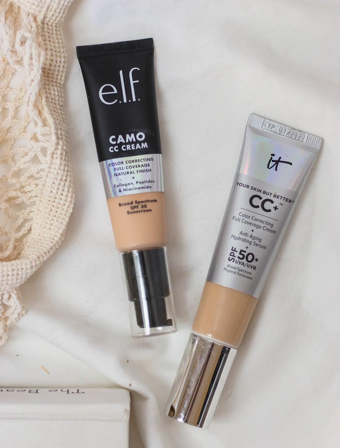 e.l.f. CC Cream vs. it Cosmetics CC Cream | A Good Hue
