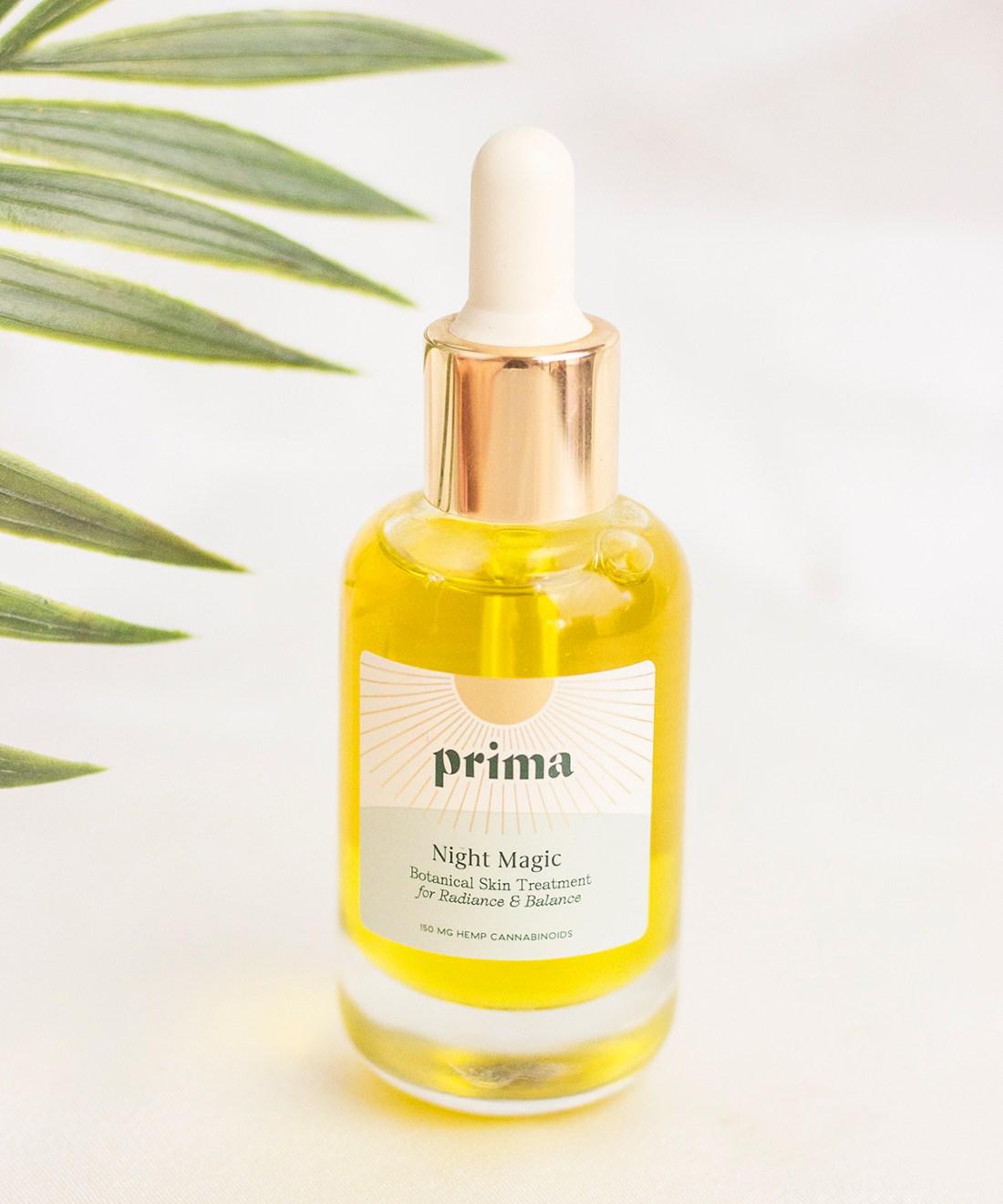 Prima Night Magic CBD Facial Oil | A Good Hue