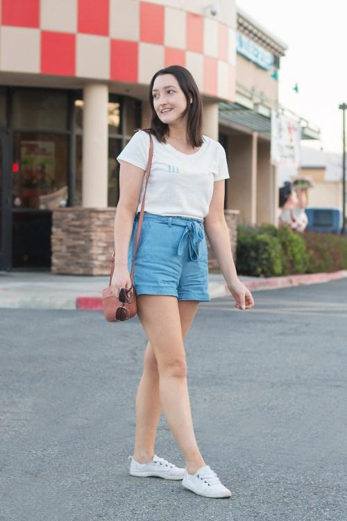 Spring-ing Into Paperbag Shorts