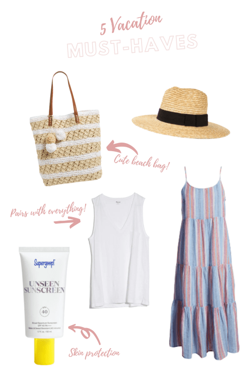 5 Summer Vacation Must-Haves