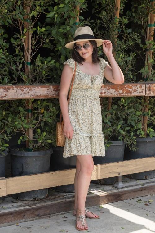 Summer Style: Smocked Floral Dress