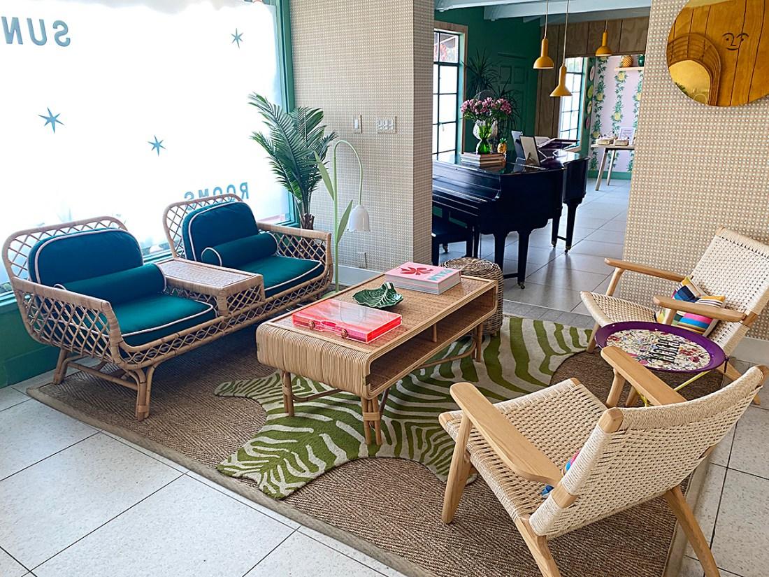 Les Cactus Hotel Lobby | A Good Hue