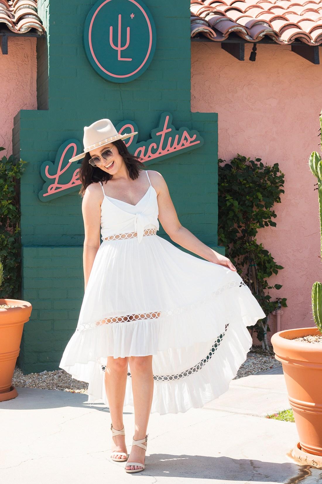 Les Cactus Boutique Hotel Palm Springs | A Good Hue