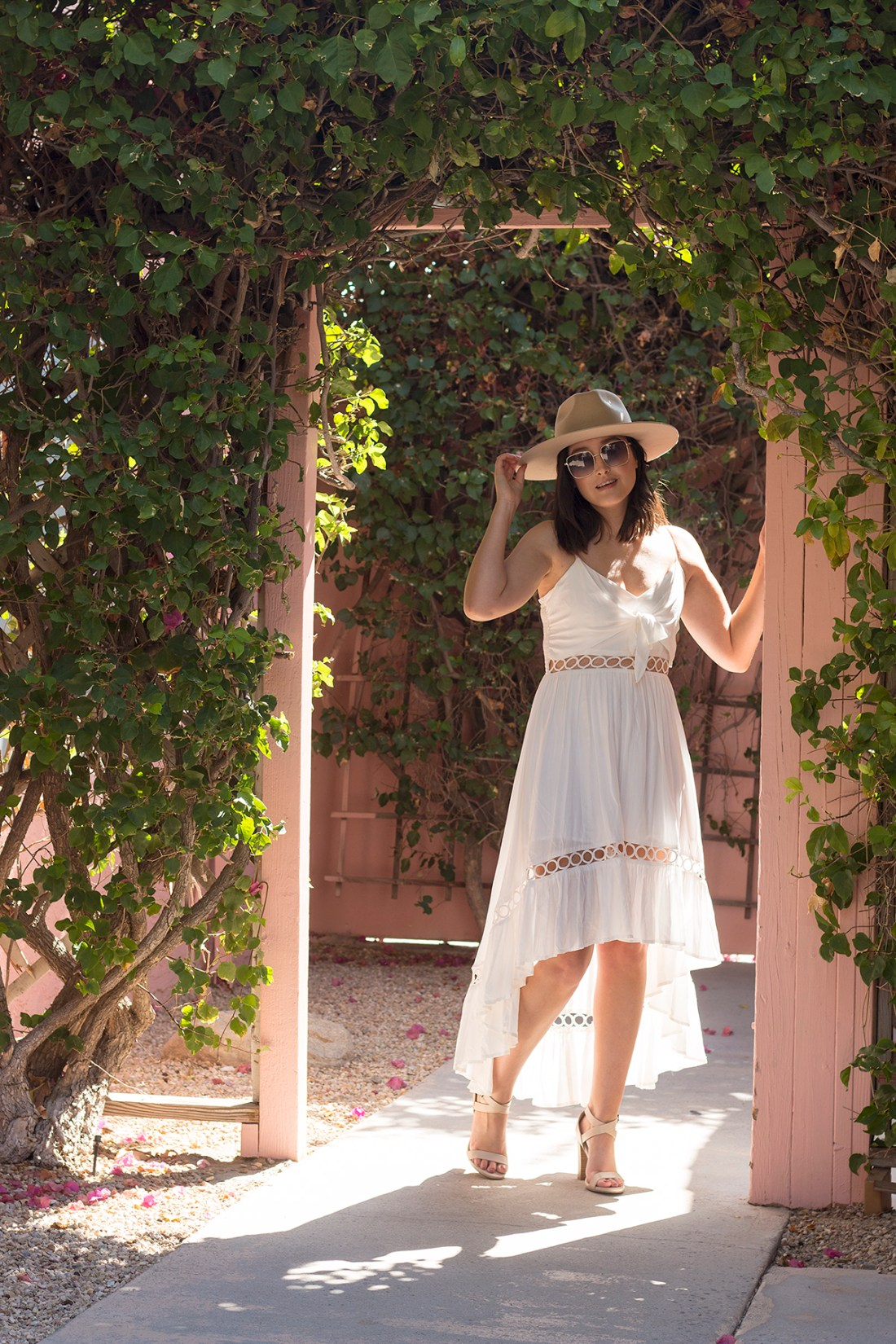 All Out Chic Boutique White Dress | A Good Hue
