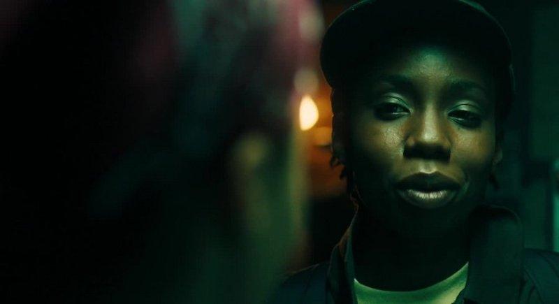 Shot from the movie Pariah (2011)