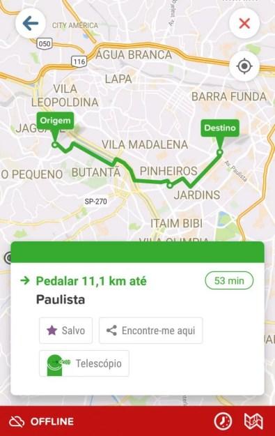 aplicativo de horário de ônibus
