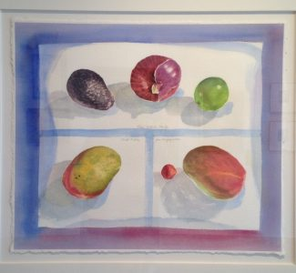 """Still Life"" 1998, watercolour on paper, 19 x 22 inches"