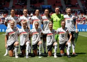 Seleção da Alemanha na Copa do Mundo de Futebol Feminino - França 2019. - Stephane Mahe/Reuters/Direitos Reservados