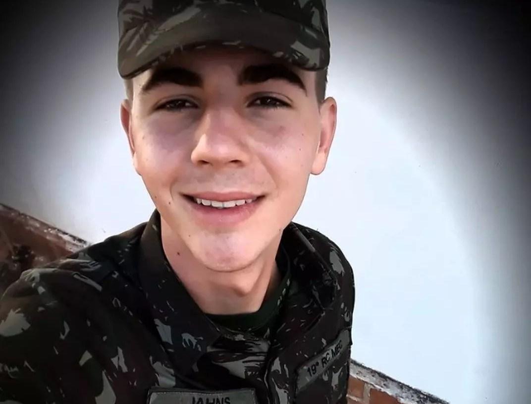 Corpo de Gustavo Leonardo Jahns foi achado na mata. Foto: Reprodução