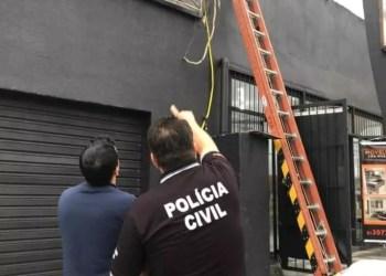 A ação ocorreu na Avenida Ipiranga, bairro Jardim Carvalho. Foto: Divulgação/Polícia Civil