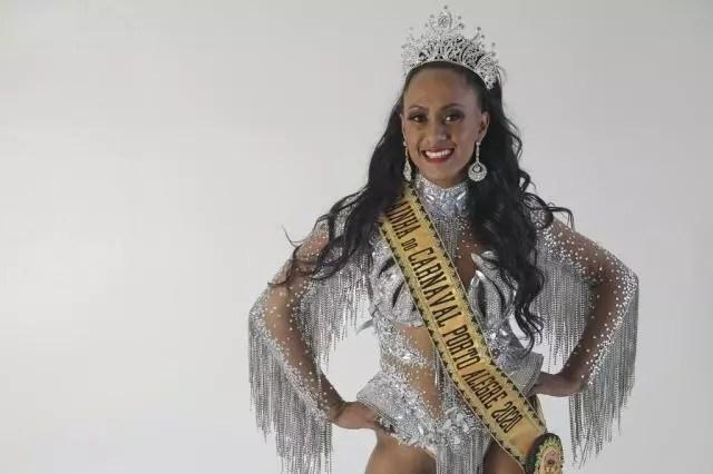 Rainha do Carnaval.