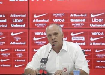 O presidente do Internacional, Marcelo Medeiros. Foto: Ricardo Duarte/Divulgação