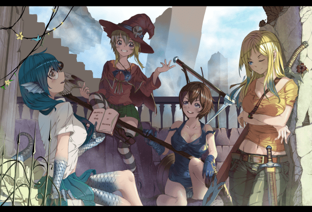 Chronicles of Eden - Best Friends/Rivals