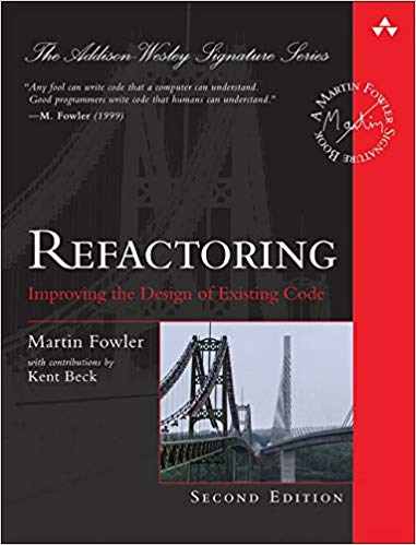 [Book Review] Refactoring: Improving the Design of Existing Code