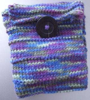rainbow pocket knit