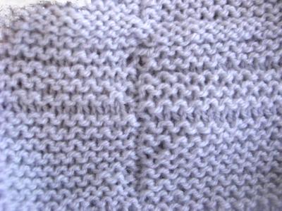 garter stitch in the round messy